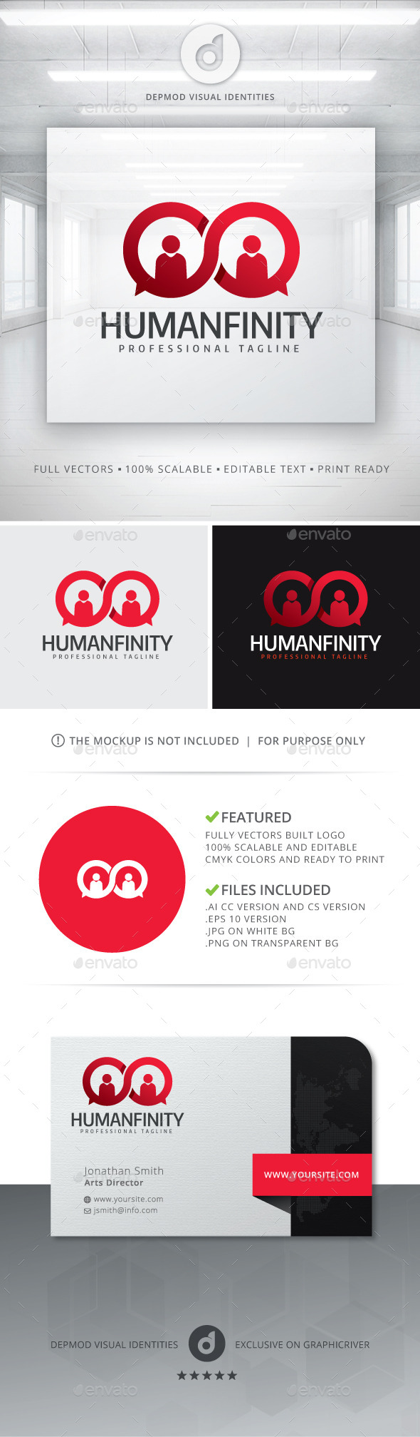 GraphicRiver Humanfinity Logo 11242563