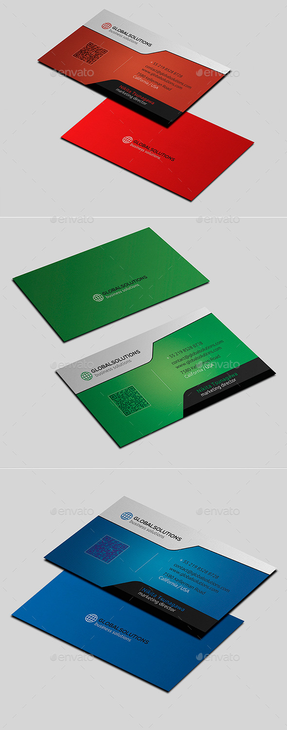 GraphicRiver Corporate Business Card 19 11242662