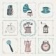 Vintage Icons and Frames - GraphicRiver Item for Sale