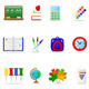 Icon Set Education - GraphicRiver Item for Sale
