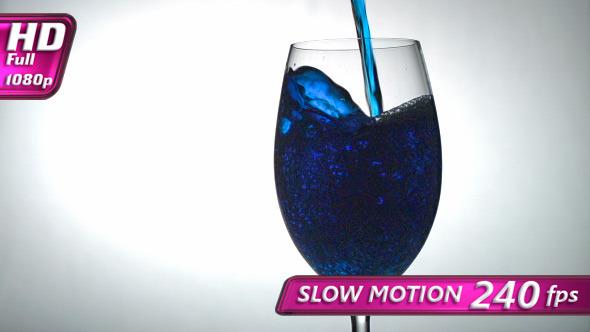 VideoHive Blue Alcoholic Beverage 11243118