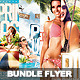 Bundle Flyer Summer Party Vol.2 - GraphicRiver Item for Sale