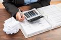 Businessperson Calculating Bills - PhotoDune Item for Sale