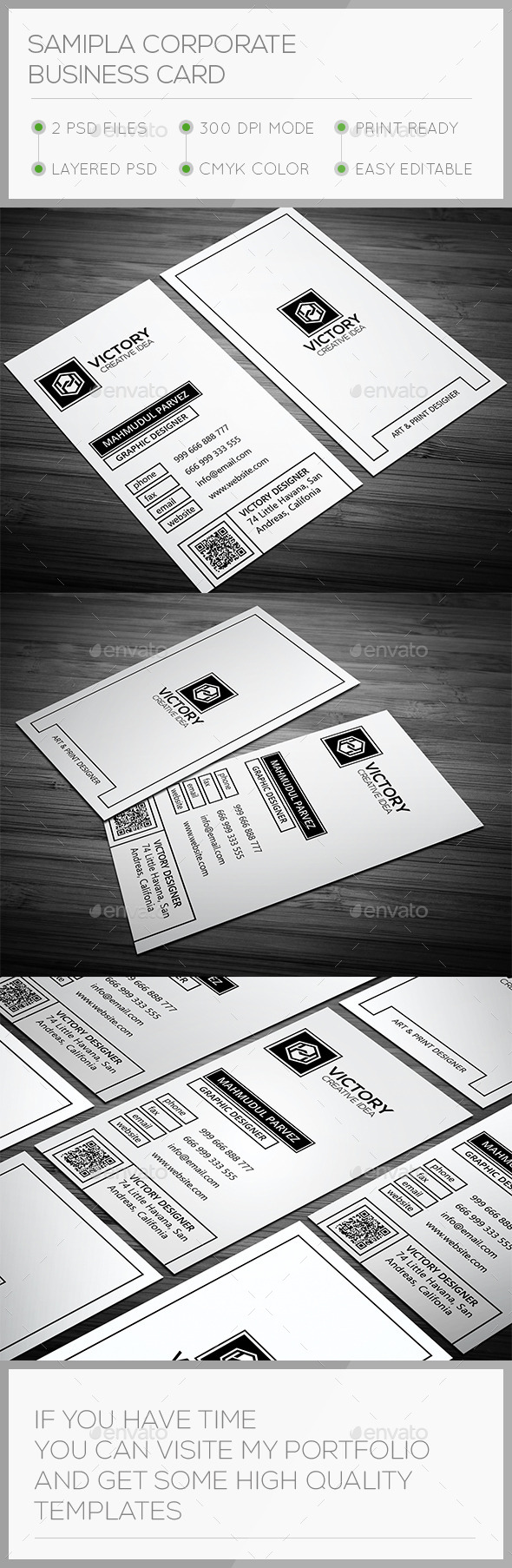 GraphicRiver Samipla Corporate Business Card 11243621