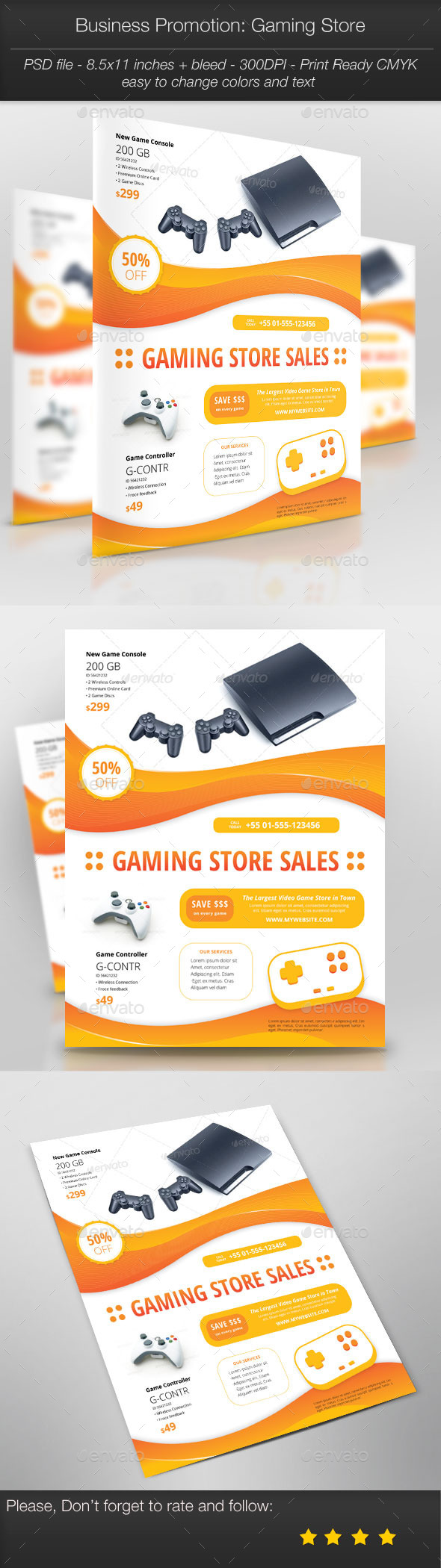 GraphicRiver Business Promotion Gaming Store 11244103