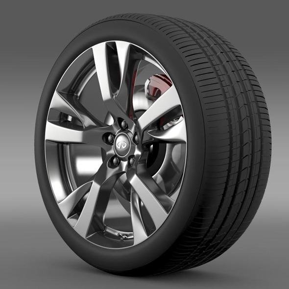 3DOcean Infiniti M wheel 11244146