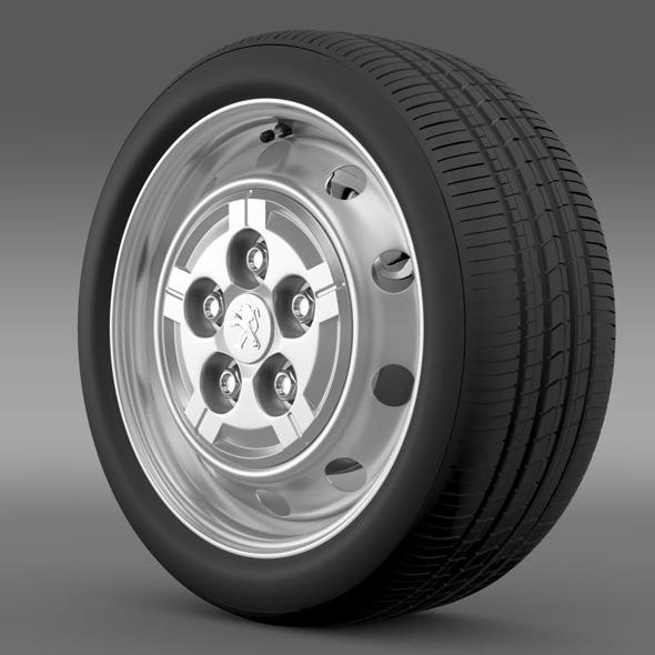 Peugeot Boxer Van wheel - 3DOcean Item for Sale