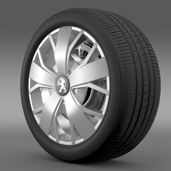 Peugeot Boxer wheel - 3DOcean Item for Sale