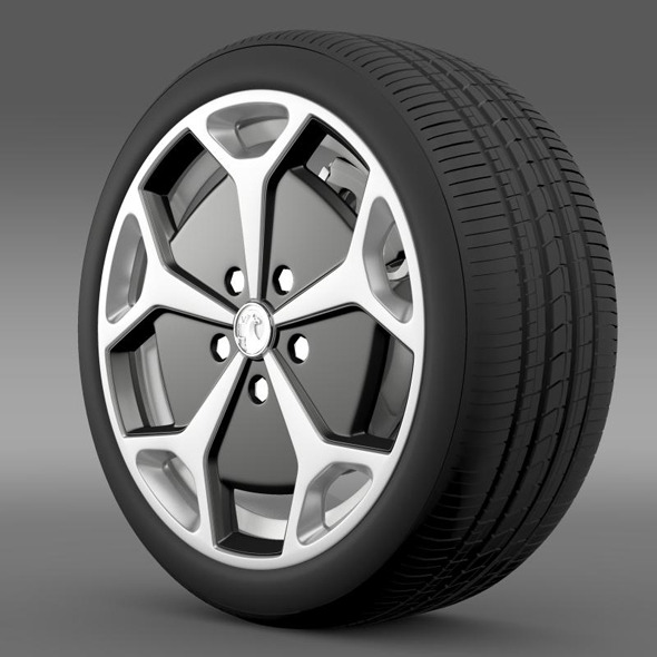 3DOcean Vauxhall Ampera wheel 11244199