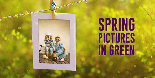 Spring Pictures in Green