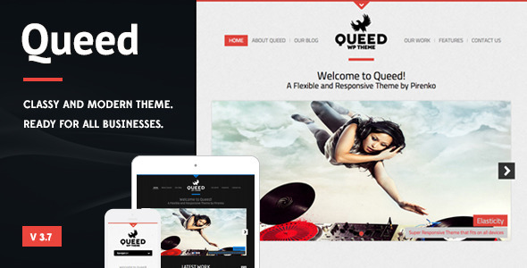 Queed - Business WordPress Theme - Portfolio Creative