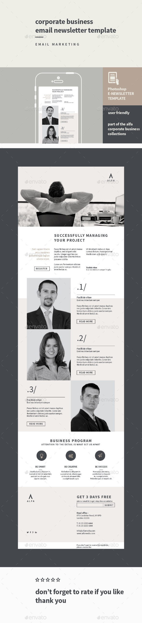 GraphicRiver Corporate Business Email Newsletter 11244293
