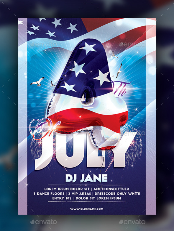 GraphicRiver 4th Of July 11244320