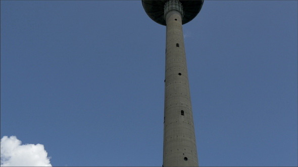 A Long Tv Tower from Vilnius Lithuania
