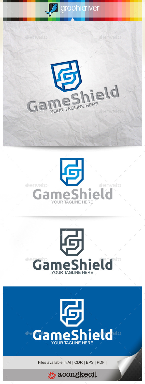 GraphicRiver Game Shield 11244825