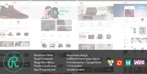 Raboda - eCommerce Responsive WordPress Theme