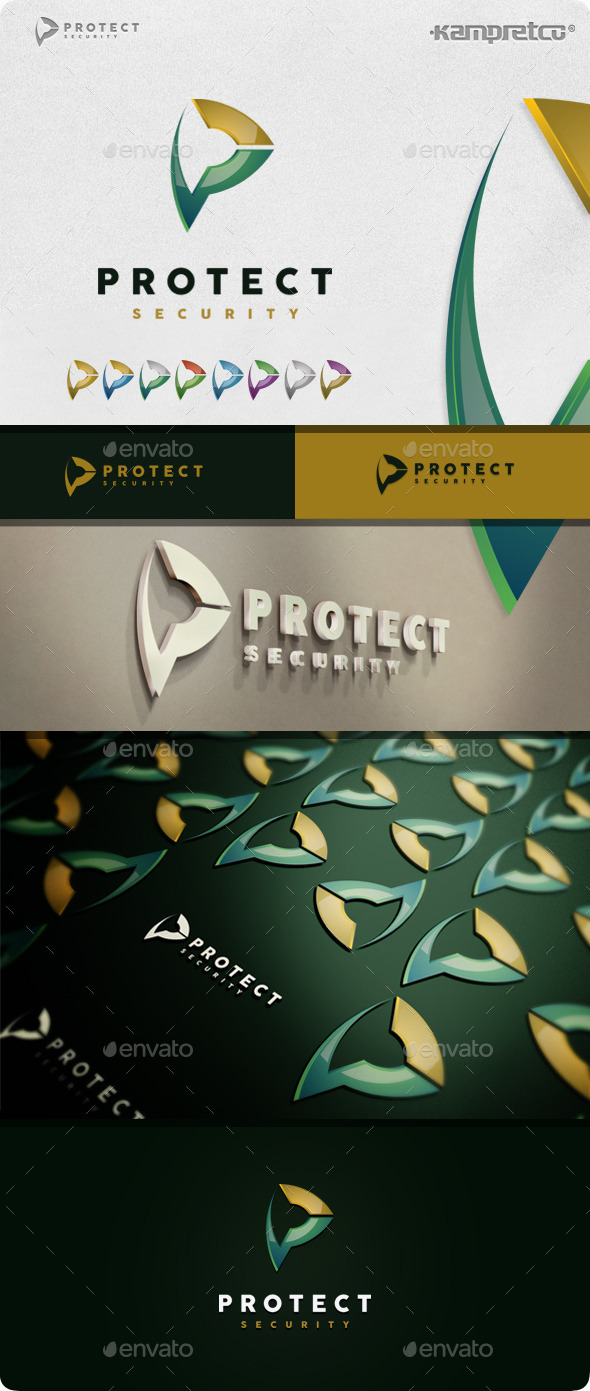 GraphicRiver Protect Secure Logo 11207957