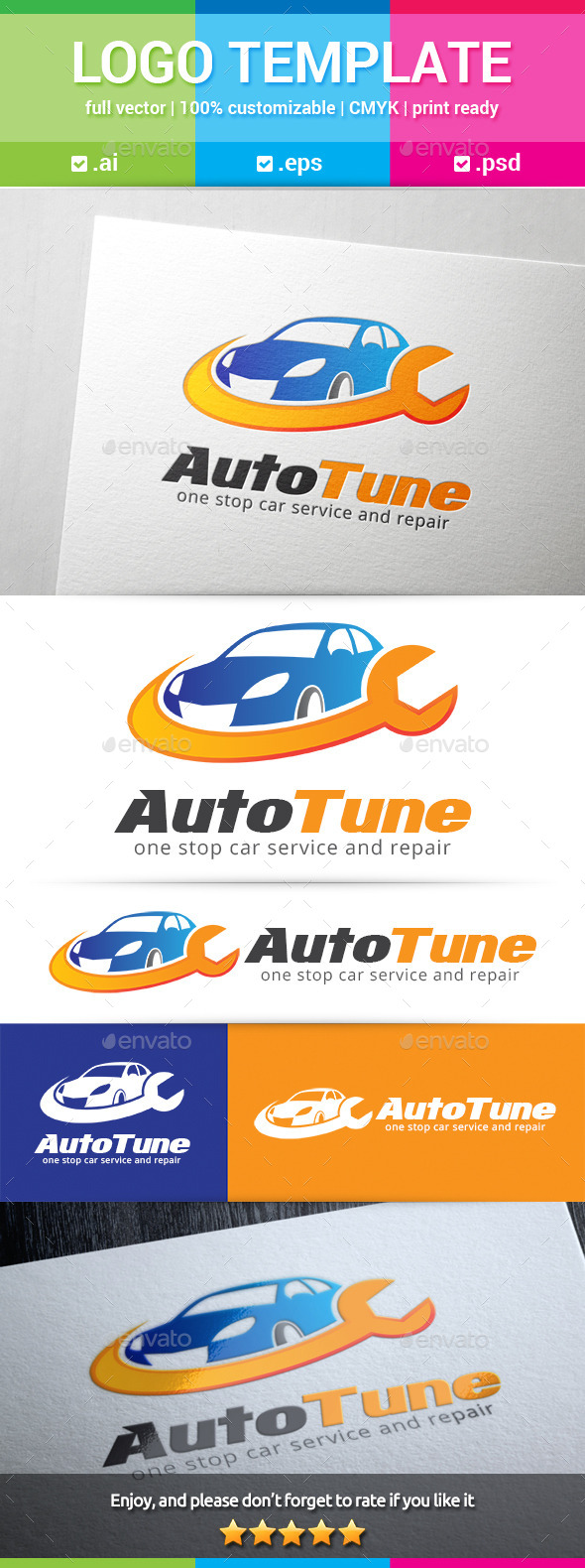 GraphicRiver Auto Tune Logo 11245271