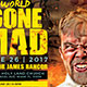 World Gone Mad Church Flyer Template - GraphicRiver Item for Sale