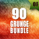 90 Grunge Backgrounds Bundle - GraphicRiver Item for Sale