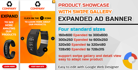 CodeCanyon Product Showcase Swipe Gallery Expanded Ad Banner 11246115
