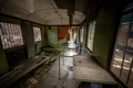 Messy vehicle interior of a train carriage - PhotoDune Item for Sale
