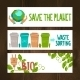 Eco Banners Set - GraphicRiver Item for Sale