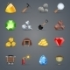 Mining Game Icons - GraphicRiver Item for Sale