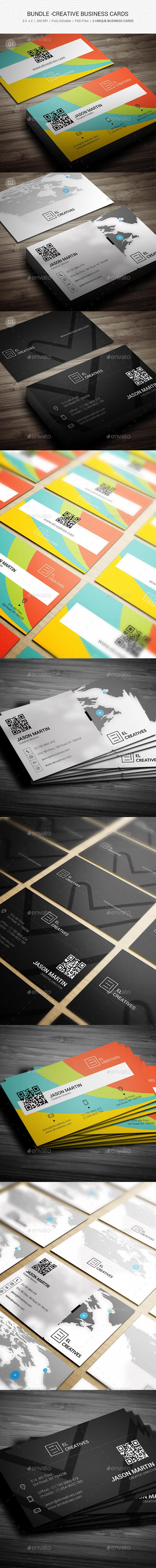 GraphicRiver Bundle Creative Busienss Cards 103 11246499