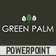 Green Palm PowerPoint Template - GraphicRiver Item for Sale