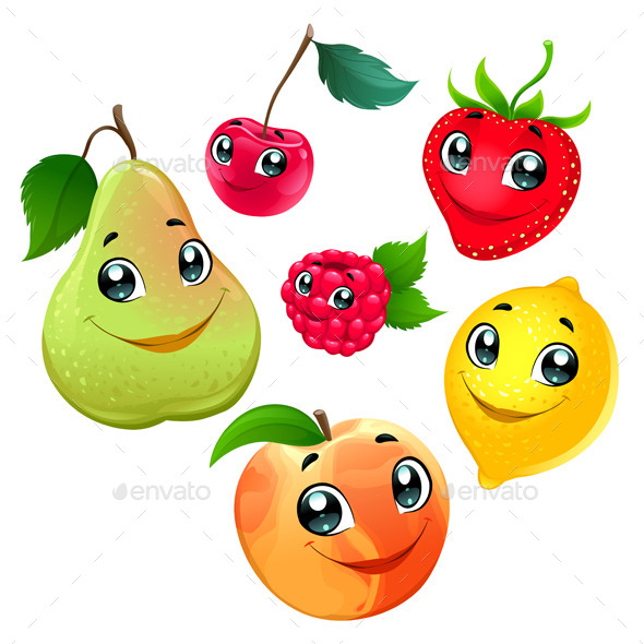 GraphicRiver Family of Fruits 11246515