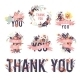 Spring Thank You Set. - GraphicRiver Item for Sale