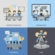 Meeting Flat Set - GraphicRiver Item for Sale