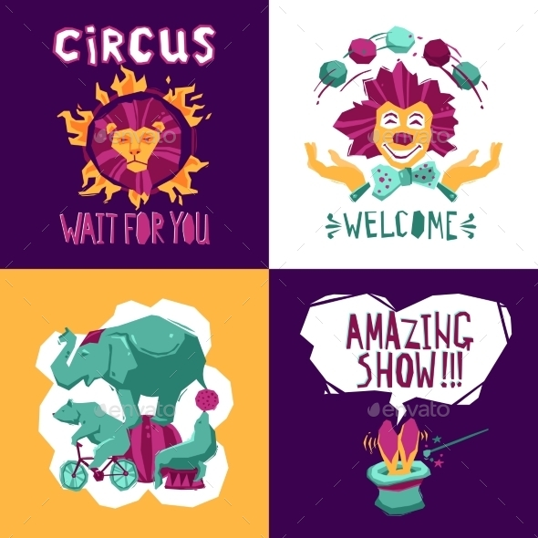 GraphicRiver Circus Design Concept 11247159
