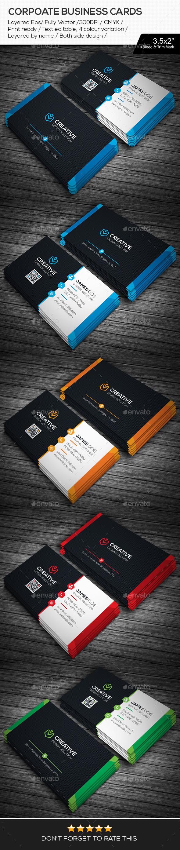 GraphicRiver Creative Design Business Cards 11247215