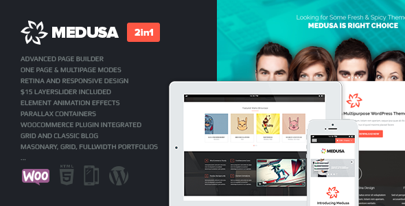 Medusa | Responsive Multi-Purpose Theme - Business Corporate