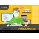 Programmer at Workplace - GraphicRiver Item for Sale