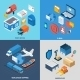 Mail Isometric Set - GraphicRiver Item for Sale
