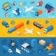 Logistics Banner Set - GraphicRiver Item for Sale
