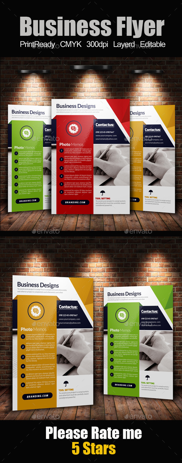 GraphicRiver A4 Business Flyer Template 11247627