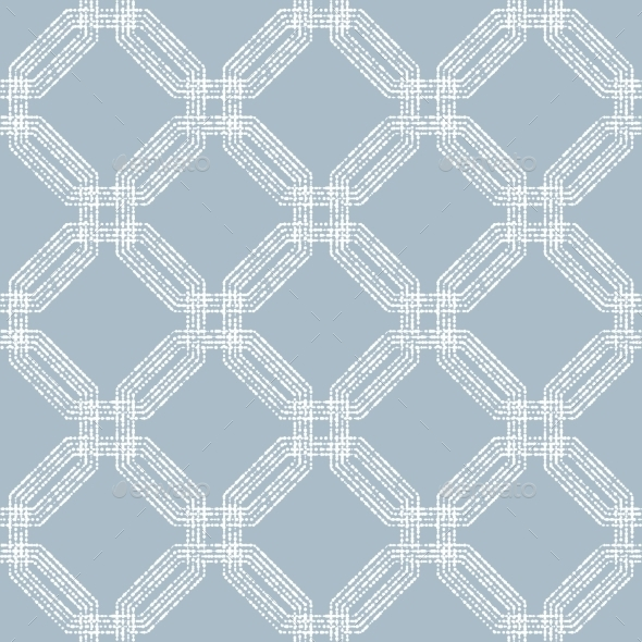 GraphicRiver Geometric Abstract Seamless Pattern With White 11247668