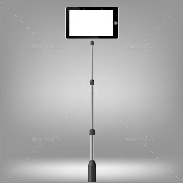 GraphicRiver Monopod Selfie 11247743