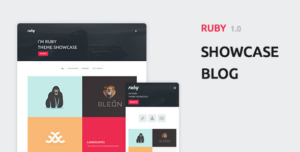 Ruby - Personal Portfolio and Blog