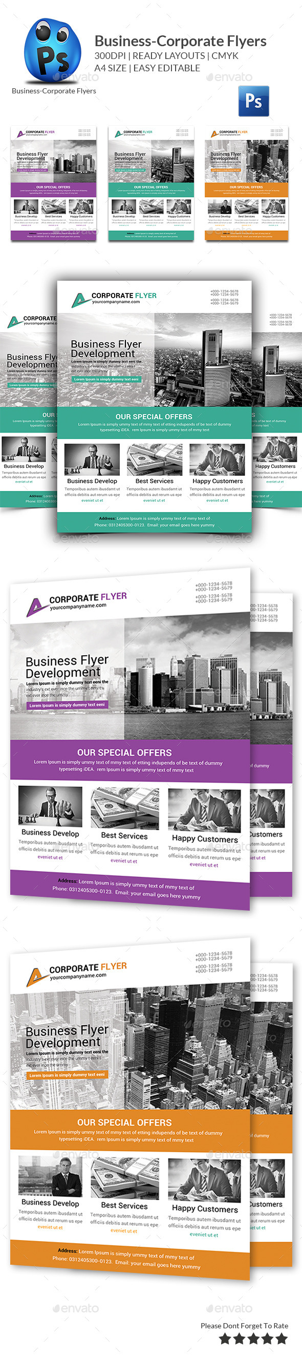 GraphicRiver Best Business Flyers Templates 11248681