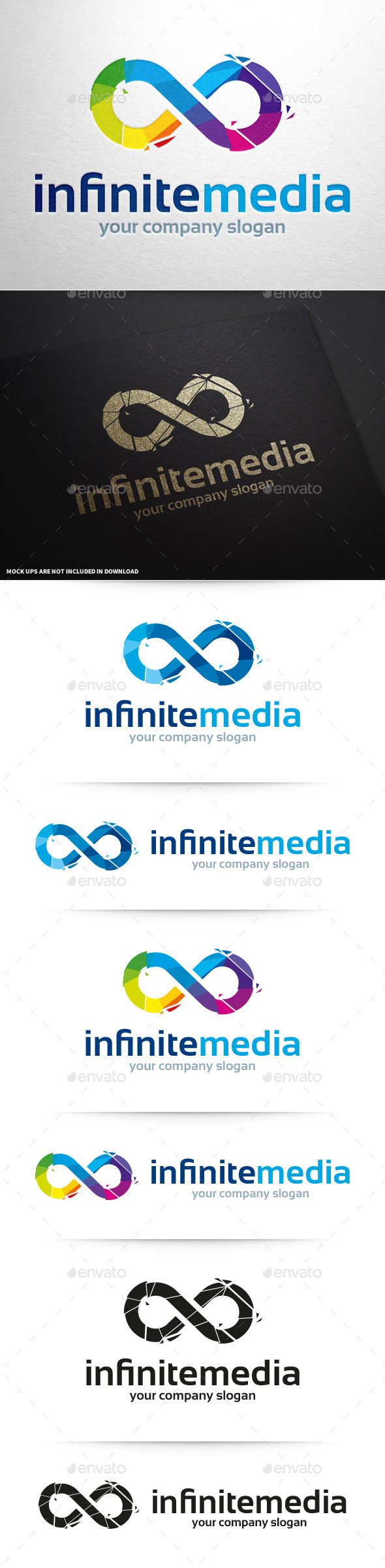 GraphicRiver Infinite Media Logo Template 11248830