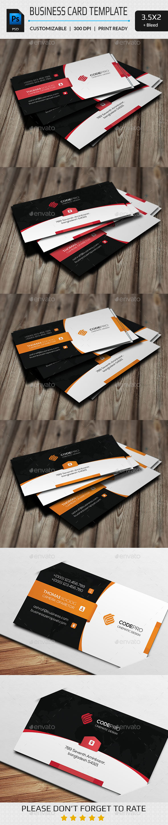 GraphicRiver Creative Business Card 11243772