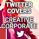 Twitter Profile Cover - Creative Corporate - GraphicRiver Item for Sale