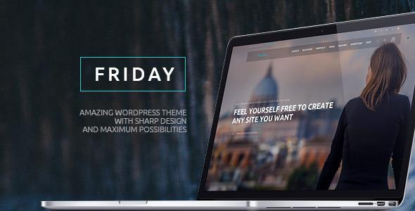 Friday - Multi-Purpose Wordpress Theme - Creative WordPress