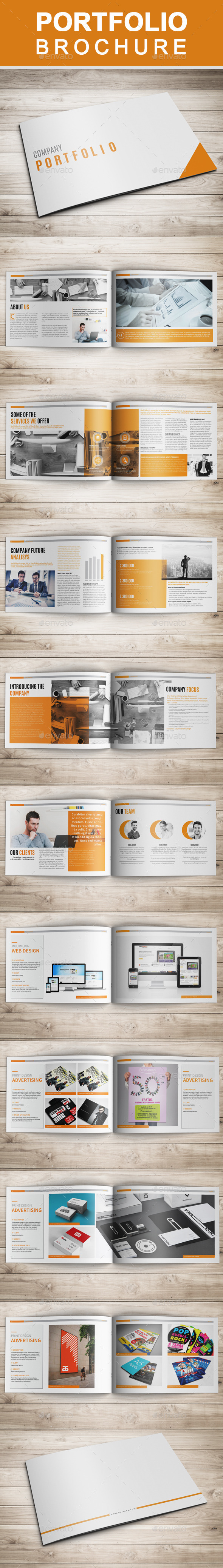 GraphicRiver Multipurpose Portfolio Brochure 11249265