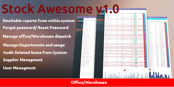 CodeCanyon Stock Awesome Inventory System 11210315